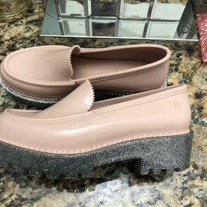 Melissa Women Light pink Loafer sz6
